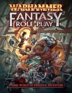 Warhammer Fantasy Roleplay Core Rulebook, 2nd Printing.