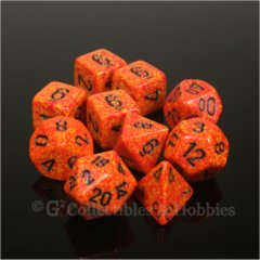Koplow Speckled & Elemental Fire 10pc
