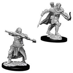 Wizkids Unpainted Mini: Male Half Elf Ranger: Deep Cuts