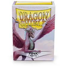 Dragon Shield Box of 100 in Pink matte