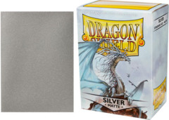 Dragon Shield Silver Matte 100 count