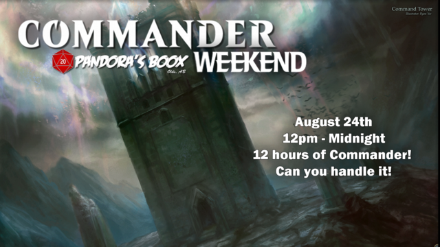 Commander Weekend