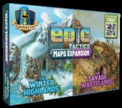 Tiny Epic Tactics: Map Expansion: Winter highlands / Savage Wastelands