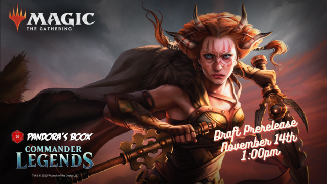 Commander Legends Draft Prerelease