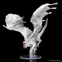 Wizkids Icons of the Realm: Adult White Dragon Premium figure