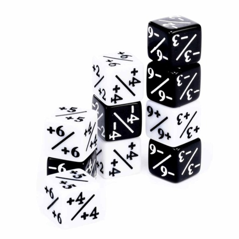 MTG creature counter dice