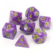 Die Hard Dice Purple Trickster