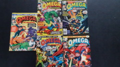Omega the Unknown #1, #2, #3, #4, #5