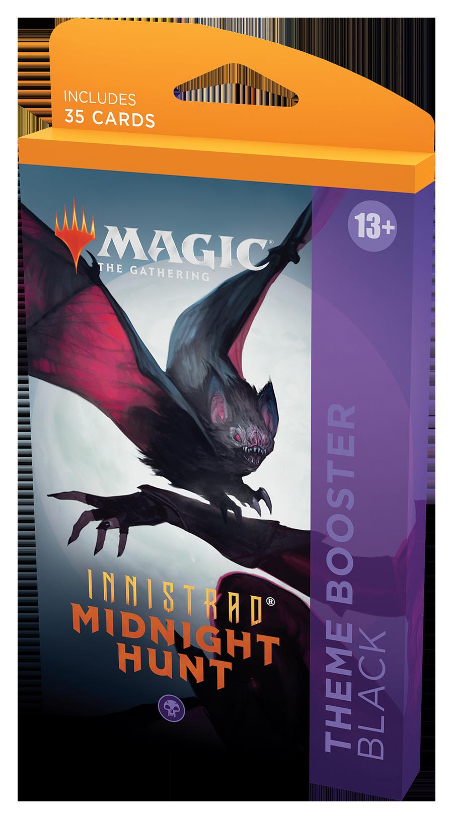 Innistrad: Midnight Hunt Theme Booster Pack - Black