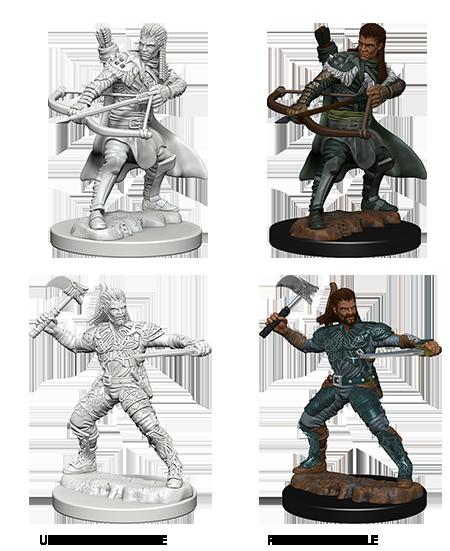 Nolzurs Marvelous Unpainted Minis - Human Ranger (Male)