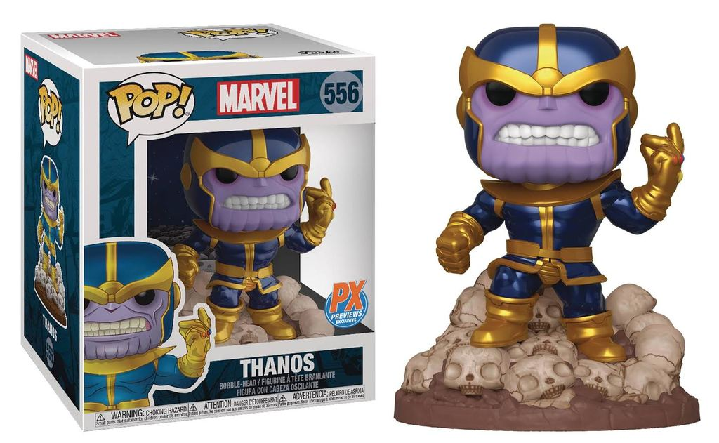 POP! Marvel 556 - Marvel 80 Years - Thanos (Snap) 6 Inch (Previews Exclusive)