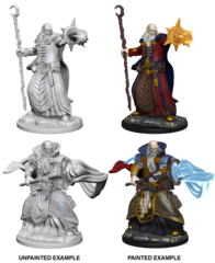 Nolzur's Marvelous Unpainted Minis - Human Wizard (Male)