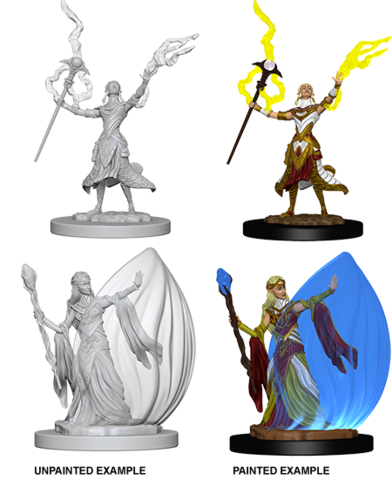 Nolzurs Marvelous Unpainted Minis - Elf Female Wizard