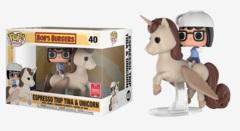 POP! Rides (Animation) 40 - Bob's Burgers - Espresso Trip Tina & Unicorn (2018 Summer Convention)