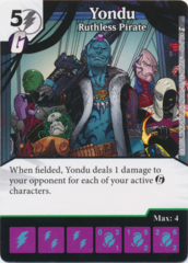 Yondu - Ruthless Pirate (Foil) (Die and Card Combo)