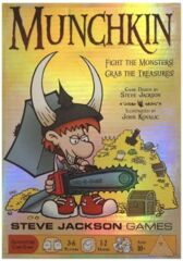 Munchkin CARD GAME GOLD EDITION
