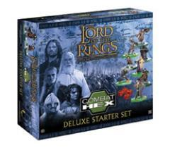 Lord of the Rings: Combat Hex - Tradeable Miniatures Game - Deluxe Starter Set