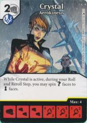 Crystal - Aerokinesis (Foil) (Die and Card Combo)