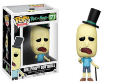 POP! Animation 177 - Rick and Morty - Mr. Poopy Butthole