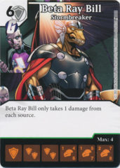 Beta Ray Bill - Stormbreaker (Foil) (Die and Card Combo)