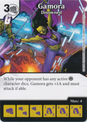 Gamora - Disowned (Foil) (Die and Card Combo)