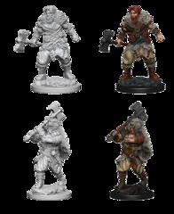 Nolzur's Marvelous Unpainted Minis - Human Barbarian (Male)