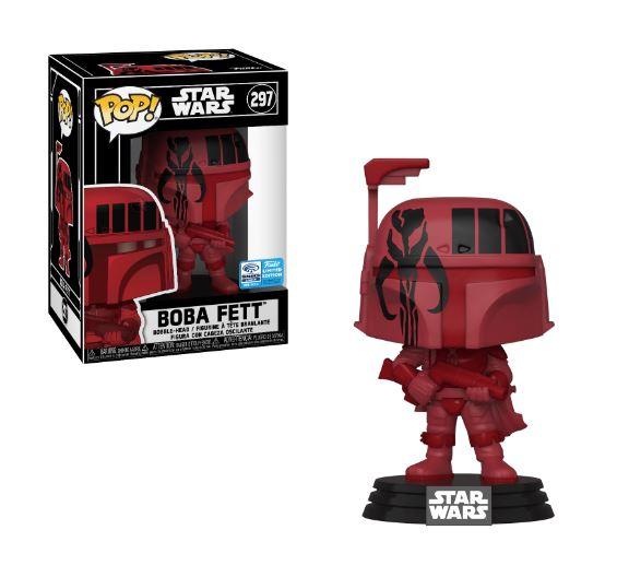 POP! Star Wars 297FUTB - Futura - Boba Fett WonderCon Exclusive