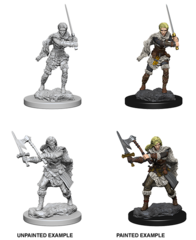 Nolzur's Marvelous Unpainted Minis - Human Barbarian (Female)