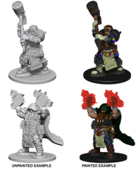 Nolzur's Marvelous Unpainted Minis - Dwarf Male Cleric