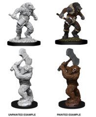 Nolzur's Marvelous Unpainted Minis - Wereboar & Werebear