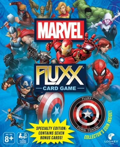 Marvel Fluxx - Card Game