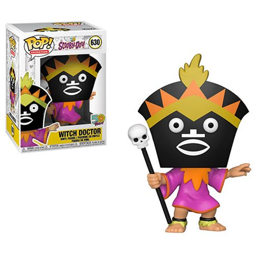 POP! Animation 630 - Scooby-Doo - Witch Doctor
