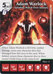 Adam Warlock - Standing Watch Over Infinity (Foil) (Die and Card Combo)