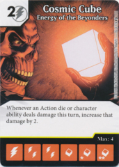 Cosmic Cube - Energy of the Beyonders (Foil) (Die and Card Combo)