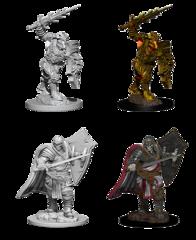 Nolzur's Marvelous Unpainted Minis - Death Knight & Helmed Horse