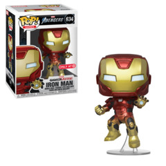 POP! Games 634TAG - Avengers Game - Iron Man (Action Pose) Target Exclusive