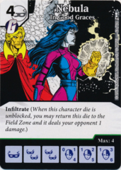 Nebula - In Good Graces (Foil) (Die and Card Combo)