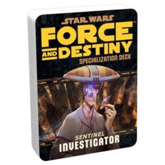Star Wars: Force and Destiny - Investigator Specialization Deck