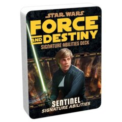 Star Wars: Force and Destiny - Sentinel Signature Abilities Deck