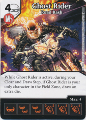 Ghost Rider - Road Rash (Foil) (Die and Card Combo)