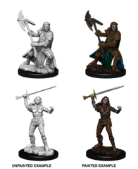 Nolzur's Marvelous Unpainted Minis - Female Half-Orc Fighter