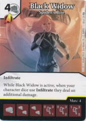 Black Widow - Spider's Bite (Foil) (Die and Card Combo)