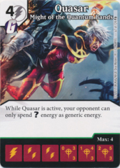 Quasar - Might of the Quantum Bands (Foil) (Die and Card Combo)
