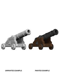Pathfinder Battles Unpainted Minis - Cannons