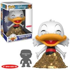 POP! Disney 312TAG10 - Duck Tales - Scrooge McDuck 10 Inch Target Exclusive