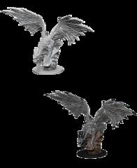 Pathfinder Battles Unpainted Minis - Silver Dragon