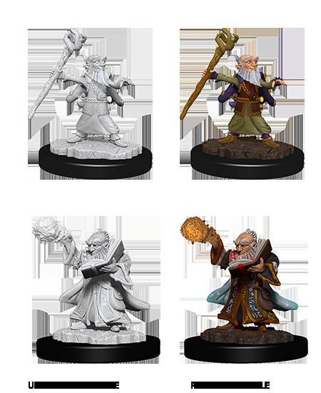 Nolzurs Marvelous Miniatures - Male Gnome Wizard