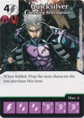 Quicksilver - Seeking Redemption (Foil) (Die and Card Combo)