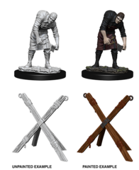 Pathfinder Battles Unpainted Minis - Assistant & Torture Cross