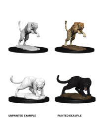 Nolzur's Marvelous Unpainted Minis - Panther & Leopard